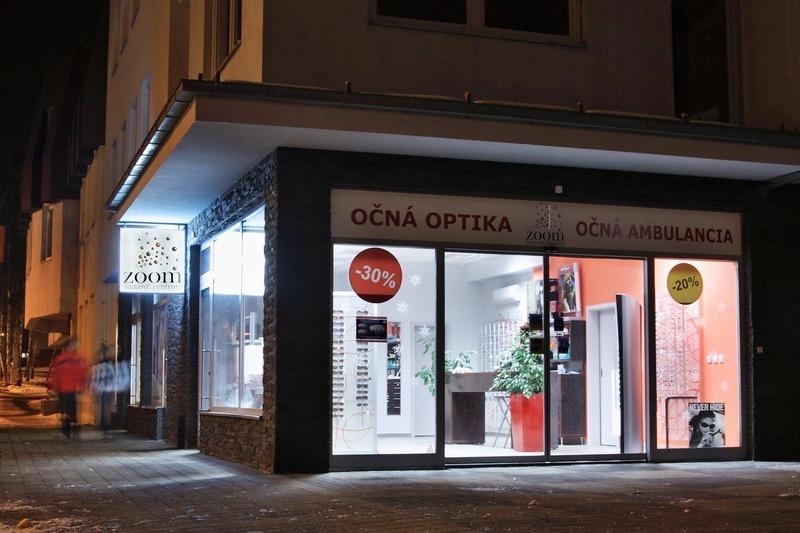 Zoom zrakové centrum - Očná optika a ambulancia Hlohovec dc7eb4a6e13
